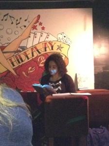 Wanda's first literary gig